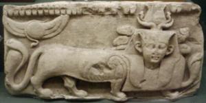 330px-ReliefDepictingTheGodTutu-RomanEra_RosicrucianMuseum