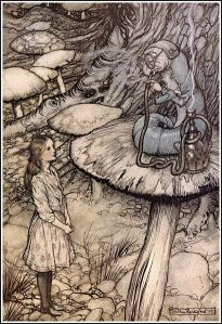 410px-Alice_in_Wonderland_by_Arthur_Rackham_-_05_-_Advice_from_a_Caterpillar