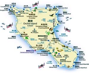 蘭嶼地圖1